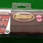 Harrows Darts Real Leather 4 Folds Dart Case: